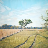 Andrew Fitchett landscape painting all media
