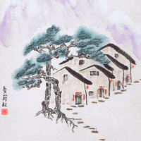 Julia Martin Chinese brush painting