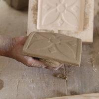 Richard Miller tile making