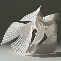 Richard Sweeney paper sculpture