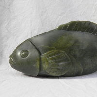 Paula Haughney soapstone carving