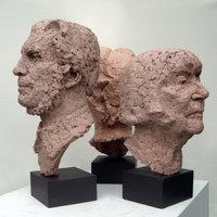 Jon Edgar terracotta heads