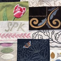 Sarah King embroidery and applique