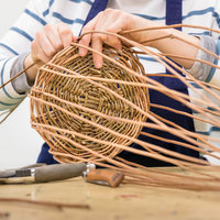 Mary Butcher sustainable container baskets from willow
