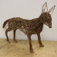 Dominic Parrette Sculptural animals in willow