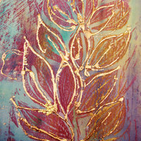 Jo Mabbutt metallics for Christmas cards