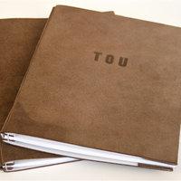 Marysa de Veer make a leather journal