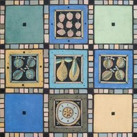Joanna Veevers mosaic mirror frame