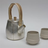 Grant McCaig handle with care working with silver and wood