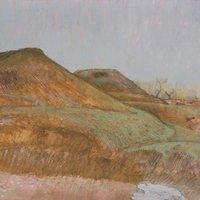 Robert A Newell Painting and drawing the Sussex Downland landscape