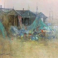 Brian Smith acrylic painting