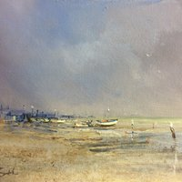 Brian Smith Acrylics workshop – mood, light and atmosphere