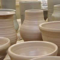 Alison Sandeman Ceramics with local clays, handbuilding and throwing