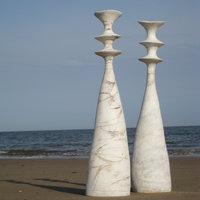 Claire Ireland Hand building large scale sculptural ceramics