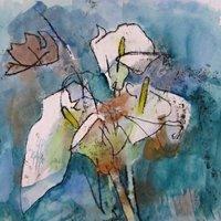 Susie Hunt Monoprinting – press free impressions