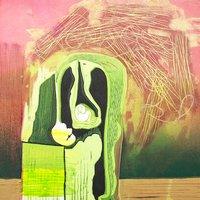 Mary Dalton Hybrid printmaking – lino, monprint and drypoint