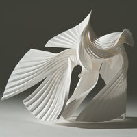 Richard Sweeney Cut, fold, construct – paper sculpture