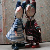 Julie Arkell Tales in papier-mâché, knitting and stitch