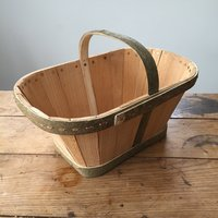 Dominic Parrette Making a Devon Maund basket