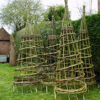 Dominic Parrette Willow work for the garden