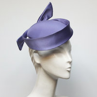 Eleanor Vallerini Couture millinery with sinamay and silk