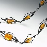 Daphne Krinos making chains jewellery