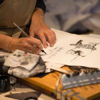 Rosalind Wyatt calligraphy handwriting with confidence