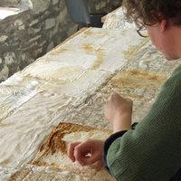 Alice Fox Mixed media art textiles – marks from the land