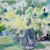 Susie Hunt Monoprinting with water-based paints and inks
