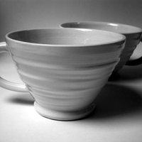 Jo Taylor Mugs, jugs and slip decoration