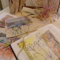 Cas Holmes Personal journals – sourcing inspiration for textiles