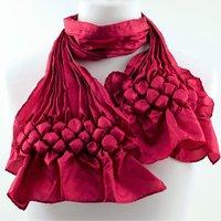 Nawal Gebreel Make a shibori textured scarf