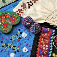 Sasha Kagan Folksy knits – decorative ideas for hand knitting