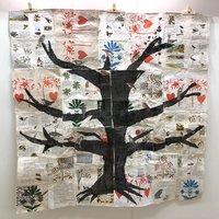 Anne Kelly Folk Bird Tree