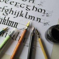 Mary Noble Calligraphy – back to basics