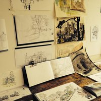 Paul Cox A Sussex sketchbook – drawing course
