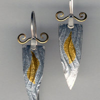 Sarah Macrae Jewellery - silver and gold earrings
