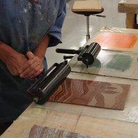 Dale Devereux-Barker Linocut printmaking with confidence