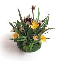 Anne Tomlin Millinery silk flowers – meadow flowers