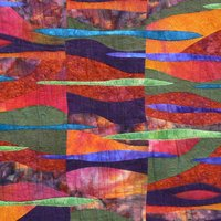 Janice Gunner Free machine quilting for contemporary quilts