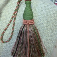 Anna Crutchley Passementerie – sumptuous linen tassels and cords