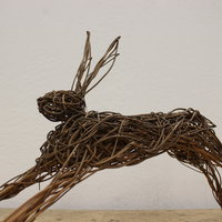Dominic Parrette Weave a willow hare
