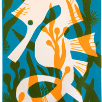 Jane Sampson Silk-screen printing