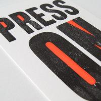 Tom Boulton Letterpress – poster printing