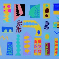 Annabel Tilley Paper cut-outs – colour, line and form