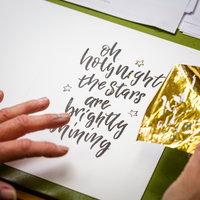Kirsten Burke - calligraphy