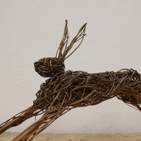 Weave a Willow Hare. Dominic Parrette