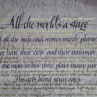 Mary Noble - Calligraphy in italics