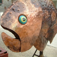 Mike Savage - Making metal outdoor sculpture