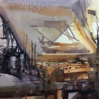 Brian Smith Watercolour painting – loosen up without losing control